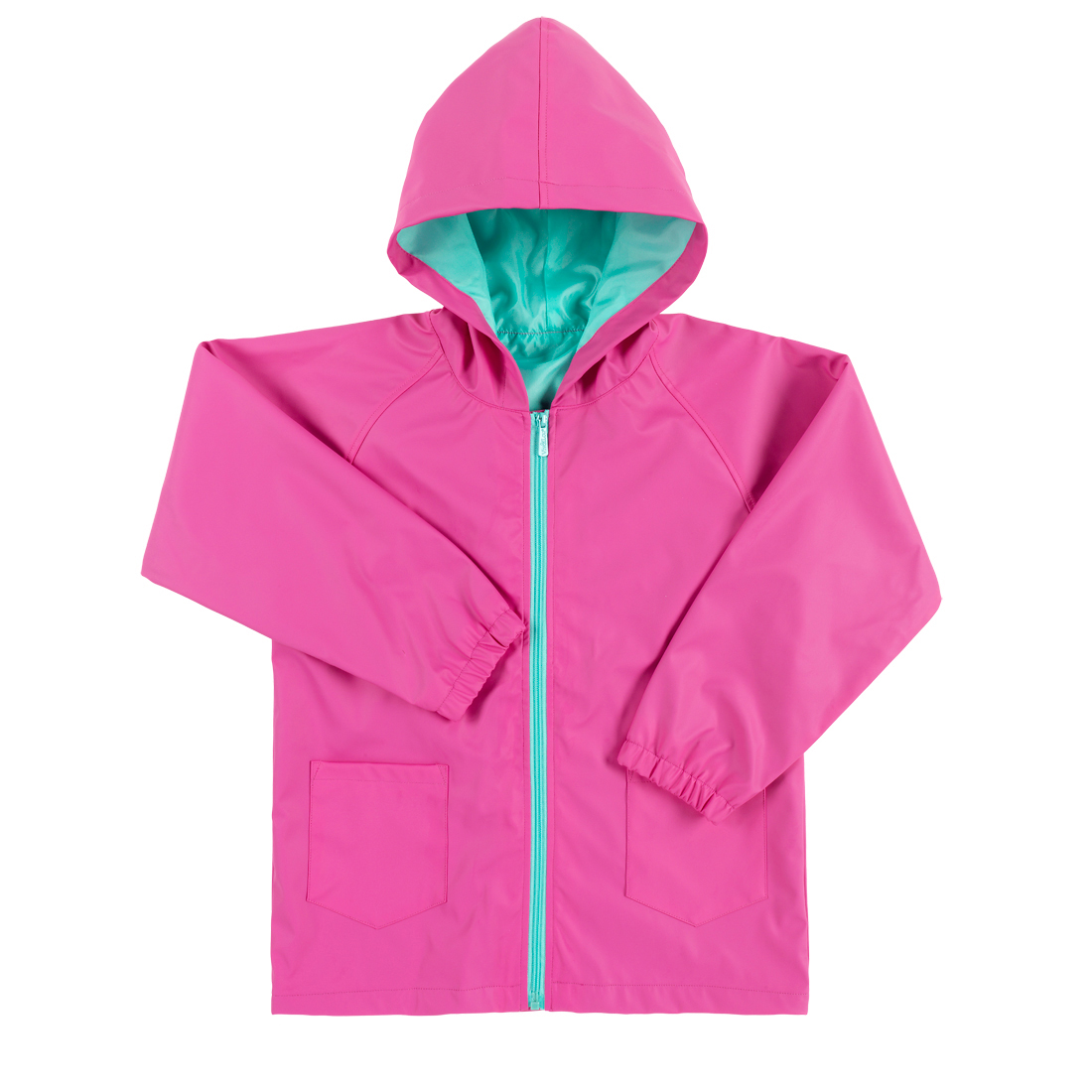 Hot Pink Kids' Rain Jacket - Small, medium or large