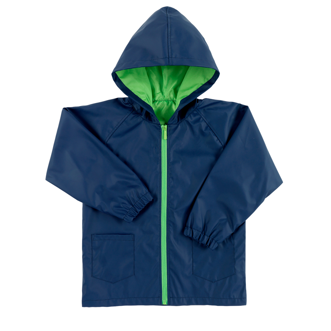 Navy Kids' Rain Jacket - Small, Medium or Large