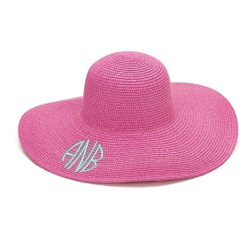 Hot Pink Floppy Hat