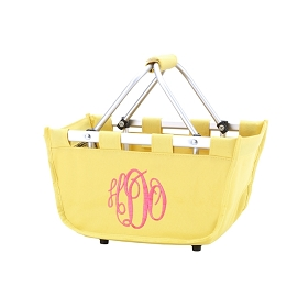 Mini Yellow Market Tote
