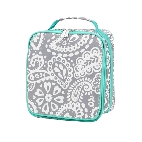 Parker Paisley Lunch Tote