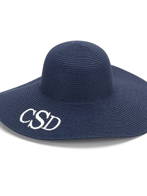 Navy Floppy Hat