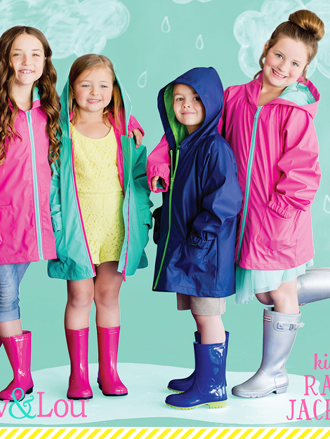 Mint Kids' Rain Jacket - Small, medium or large