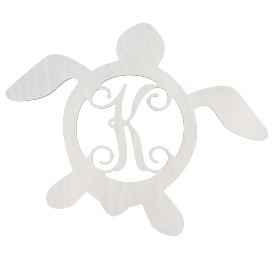 Single Initial Birch Turtle