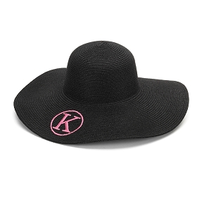 Black Floppy Hat