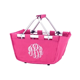 Mini Hot Pink Market Tote