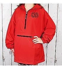 Monogrammed Rain Jacket (Unisex available for Men, Women, Boys and Girls)