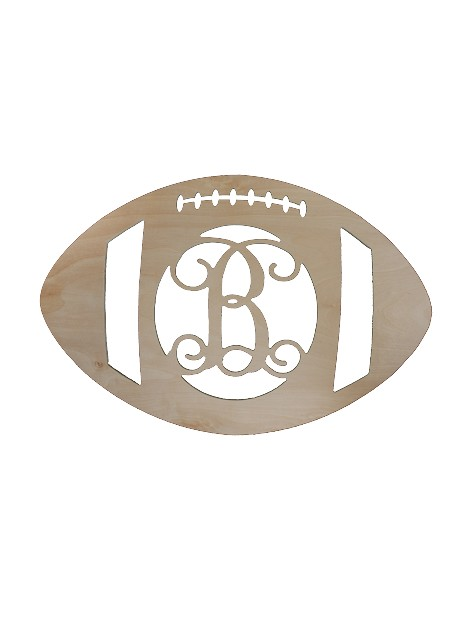 Single Initial Birch Football