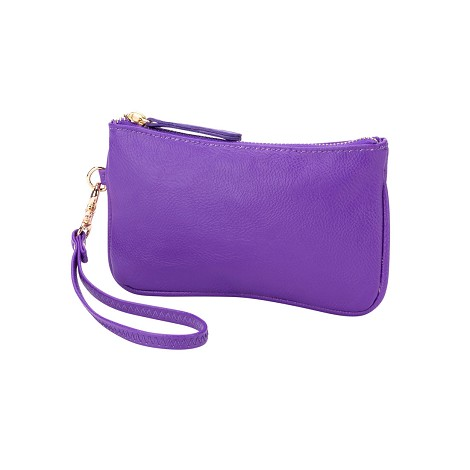 Purple Mini Wristlet